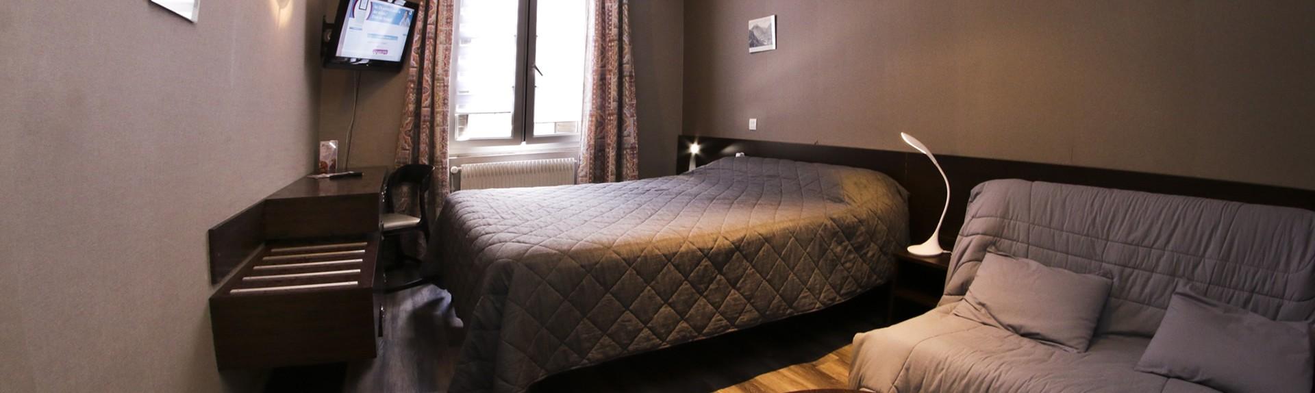 Dormir dans une chambre standard de l'hôtel